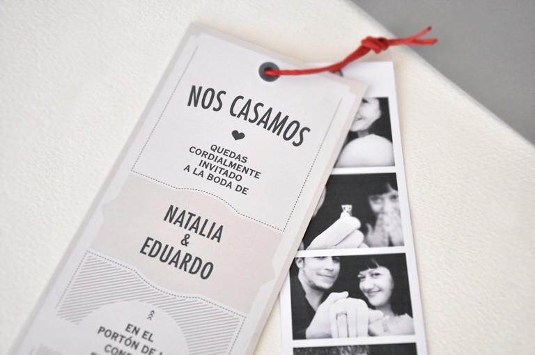 invitaciones de casamiento originales