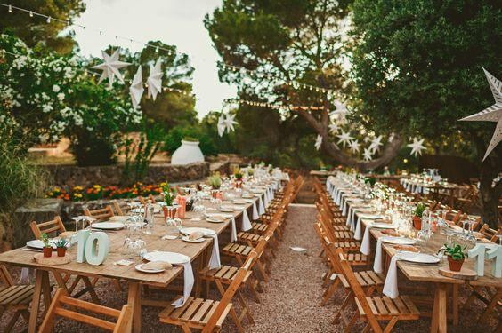ideas para una boda rústica