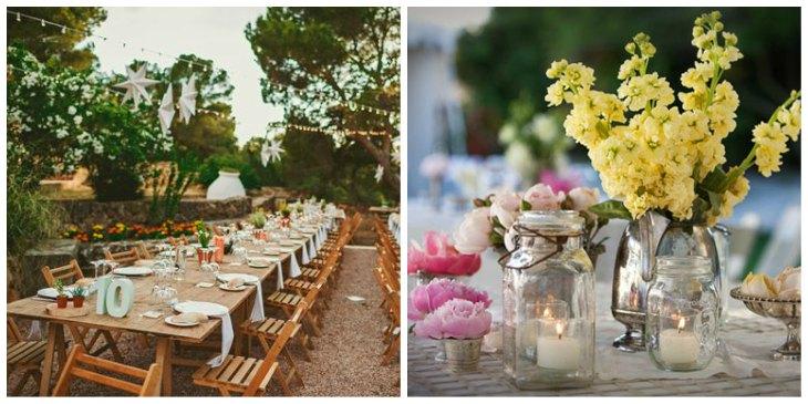 Ideas para una boda r stica espectacular y un casamiento - Muebles para bodegas rusticas ...