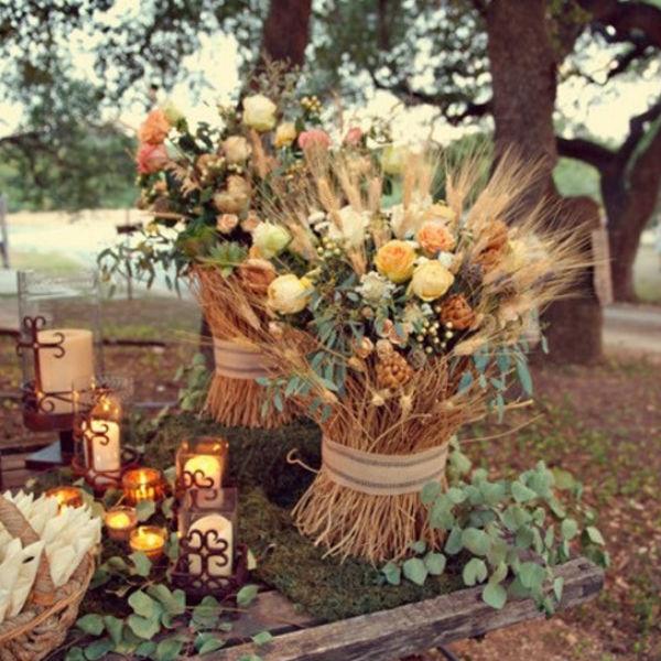 Decoraci n para una boda sencilla y original - Decoraciones para bodas sencillas ...