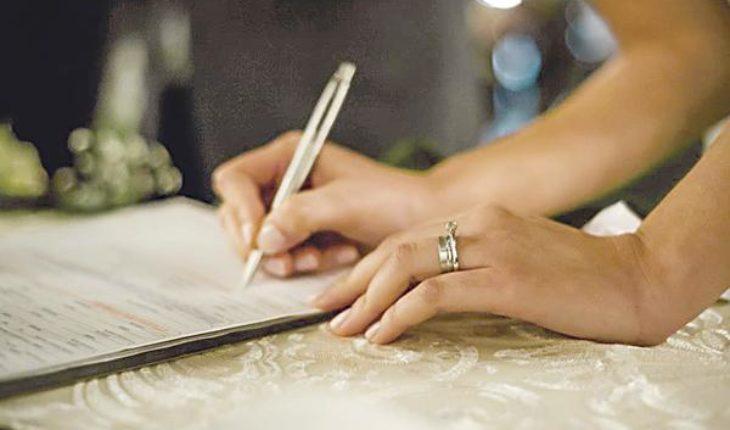 Protocolo para la ceremonia de una boda civil, guía práctica