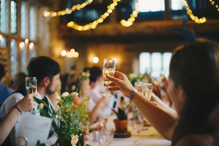 decoración boda sencilla