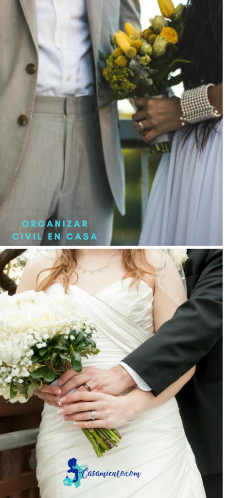 organizar boda civil en casa