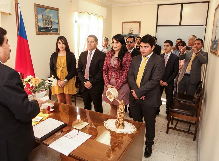 protocolo ceremonia civil