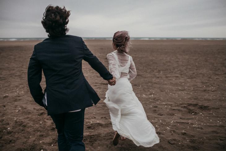 boda en la playa sencilla