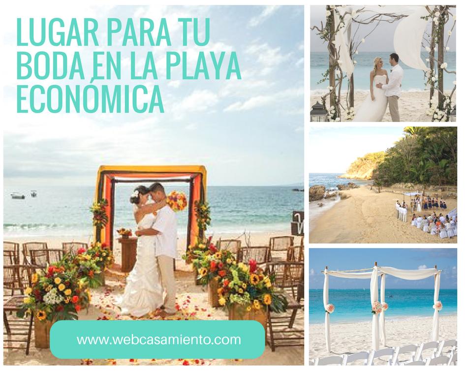 boda en la playa económica elegir el lugar