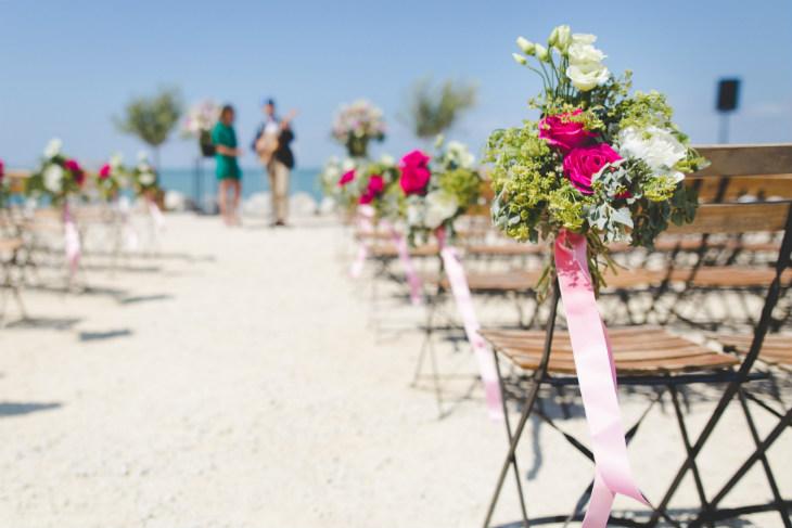 boda en la playa económica ideas decoración