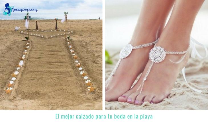 boda-en-la-playa-económica-calzado