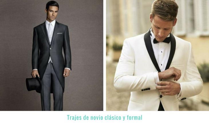 Trajes de novio modernos 7 modelos seg n tu estilo for Trajes de novio blanco para boda