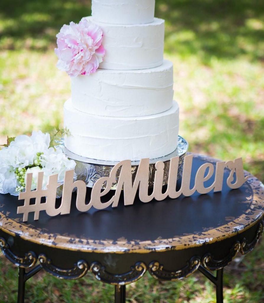 torta casamiento moderna
