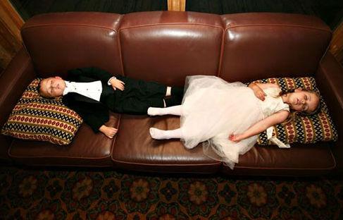 Juegos para niños en una boda