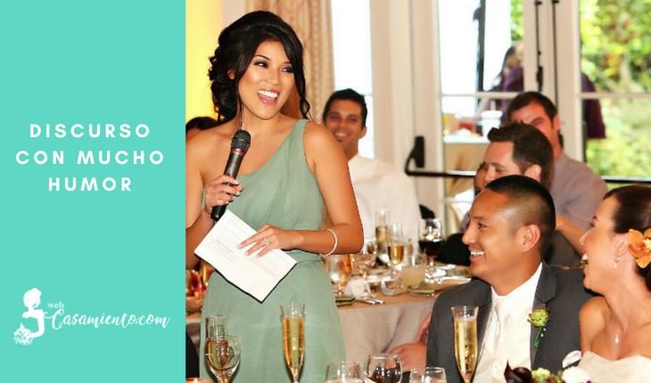Como preparar un discurso de boda