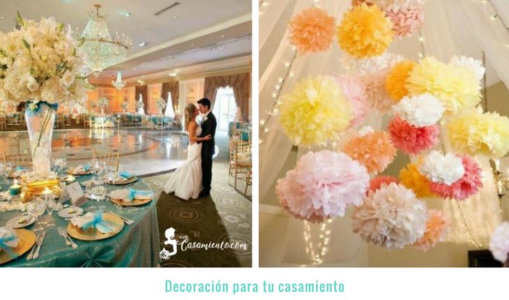 Ideas Para Bodas Sencillas Y Originales Finest Decoracin De La Boda - Decoraciones-para-bodas-sencillas