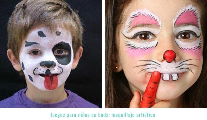 juegos-boda-niños-maquillaje