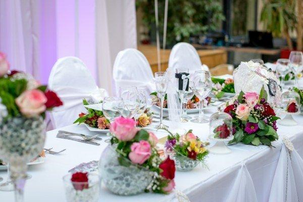 Centros de mesa para boda faciles