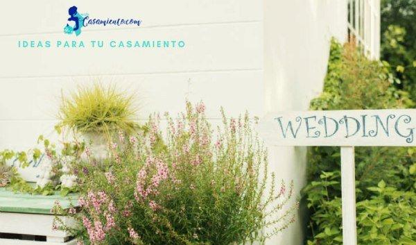 boda rustica carteles