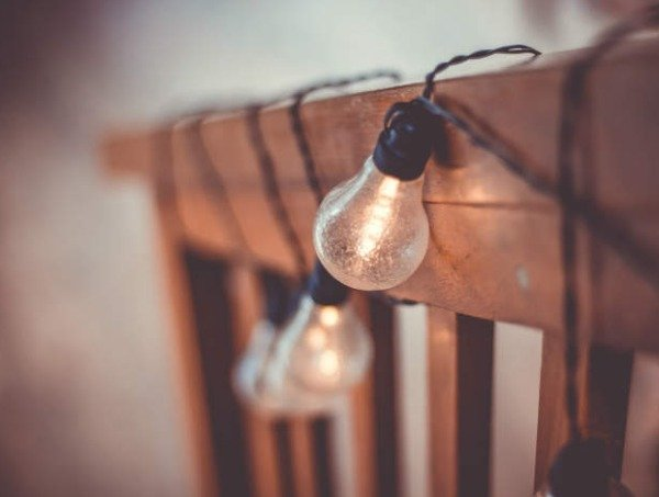 boda rustica iluminar