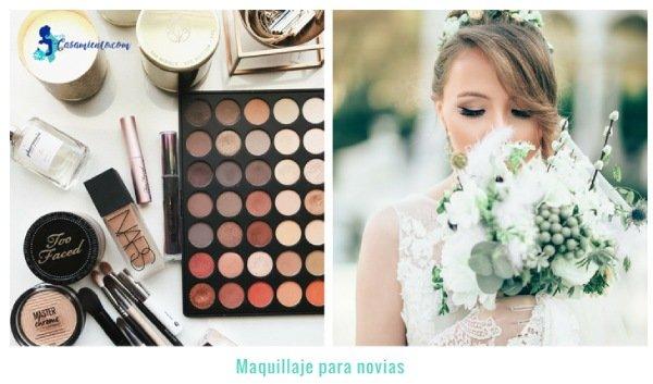 maquillaje para novia look natural