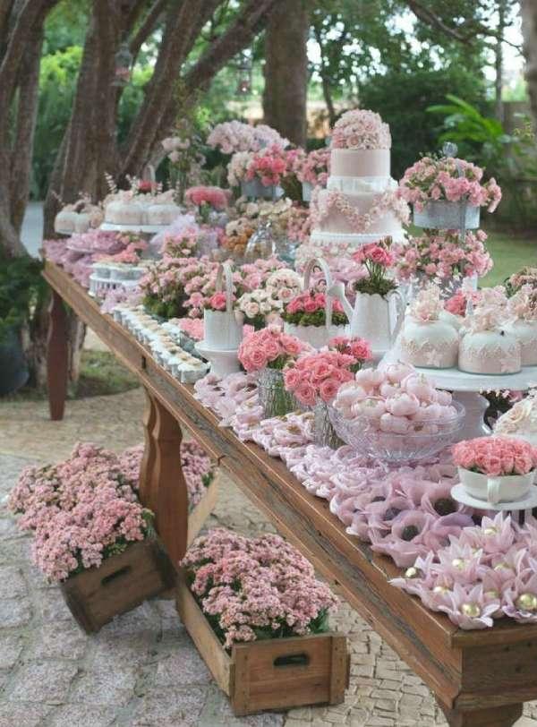 mesa de dulces para boda
