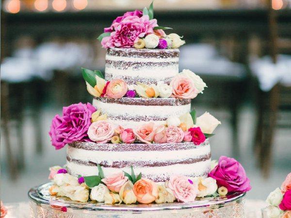 tortas de bodas sencillas