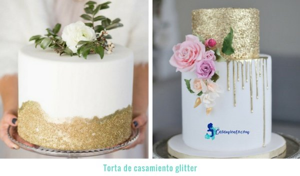 tortas de matrimonio modernas