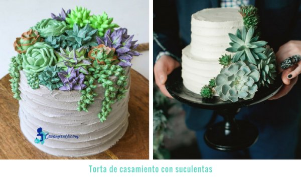 tortas de casamiento modernas