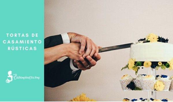 tortas de casamiento rusticas