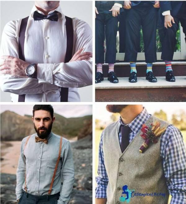 trajes de novio casual