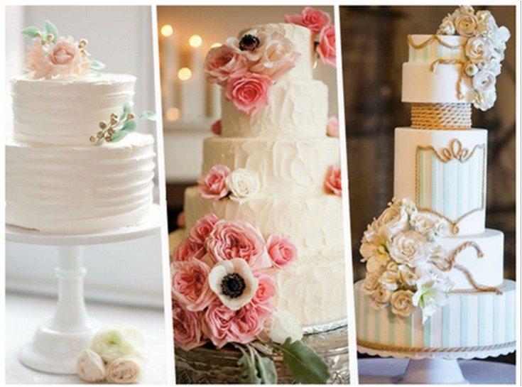 tortas boda sencillas