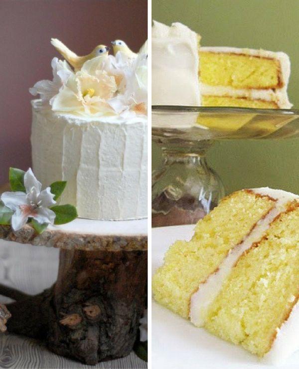 tortas de casamiento sencilla