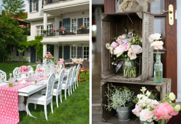 decoracion para boda sencilla