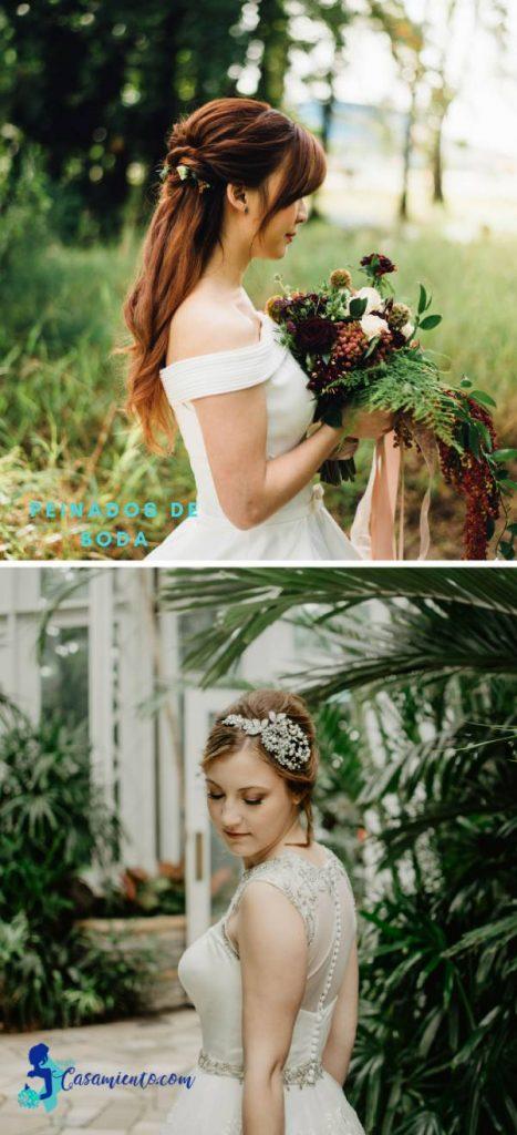 peinado para novia recogido