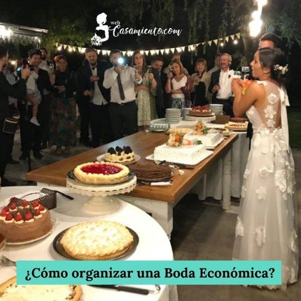como organizar una boda economica