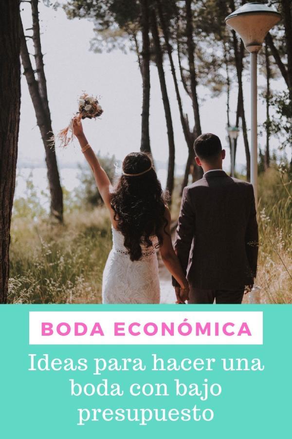 organizar una boda economica