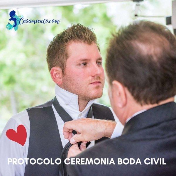 protocolo ceremonia boda civil