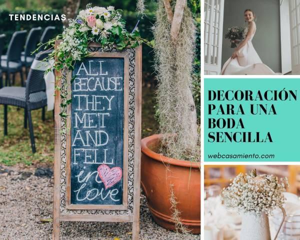 decoracion-para-una-boda sencilla